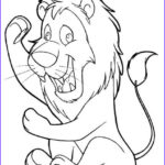 Lion Coloring Books Beautiful Stock Fun With Lion Coloring Pages
