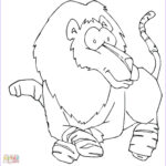 Lion Coloring Page Beautiful Photos Funny Lion Coloring Page