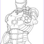 Marvel Coloring New Collection Iron Man Marvel Iron Man Coloring Pages Free Printable