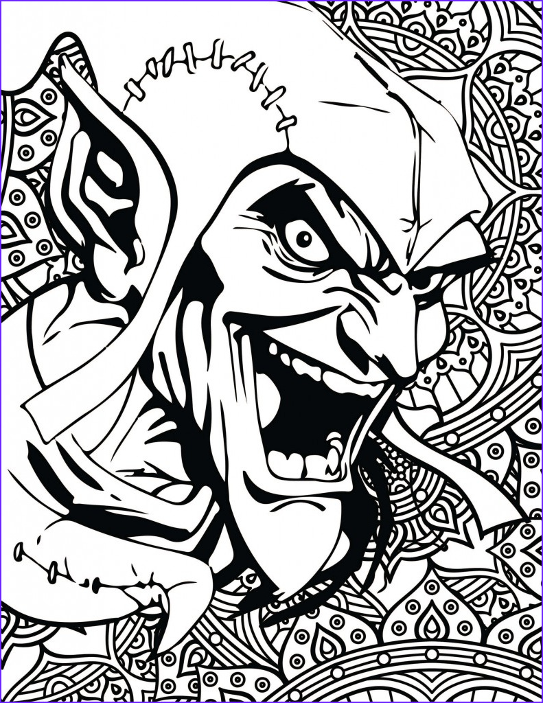 Marvel Coloring Pages Awesome Image Marvel Villain Coloring Pages