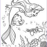 Mermaid Coloring Beautiful Images The Little Mermaid Coloring Pages