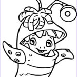 Monster Coloring Beautiful Images Disney Monsters Inc Coloring Pages