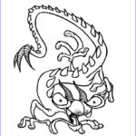 Monster Coloring Beautiful Images Dragon Monster Coloring Pages Hellokids