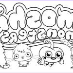 Monster Coloring Beautiful Images Free Printable Moshi Monster Coloring Pages For Kids