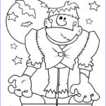 Monster Coloring Best Of Photos Halloween Monster Coloring Pages Printable