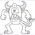 Monster Coloring Elegant Stock Free Printable Monster Coloring Pages For Kids