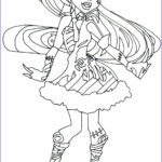 Monster Coloring Inspirational Photos All Monster High Dolls Coloring Pages Coloring Home