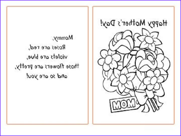 Mother Day Coloring Card Inspirational Collection Mother S Day Coloring Pages Bing Images