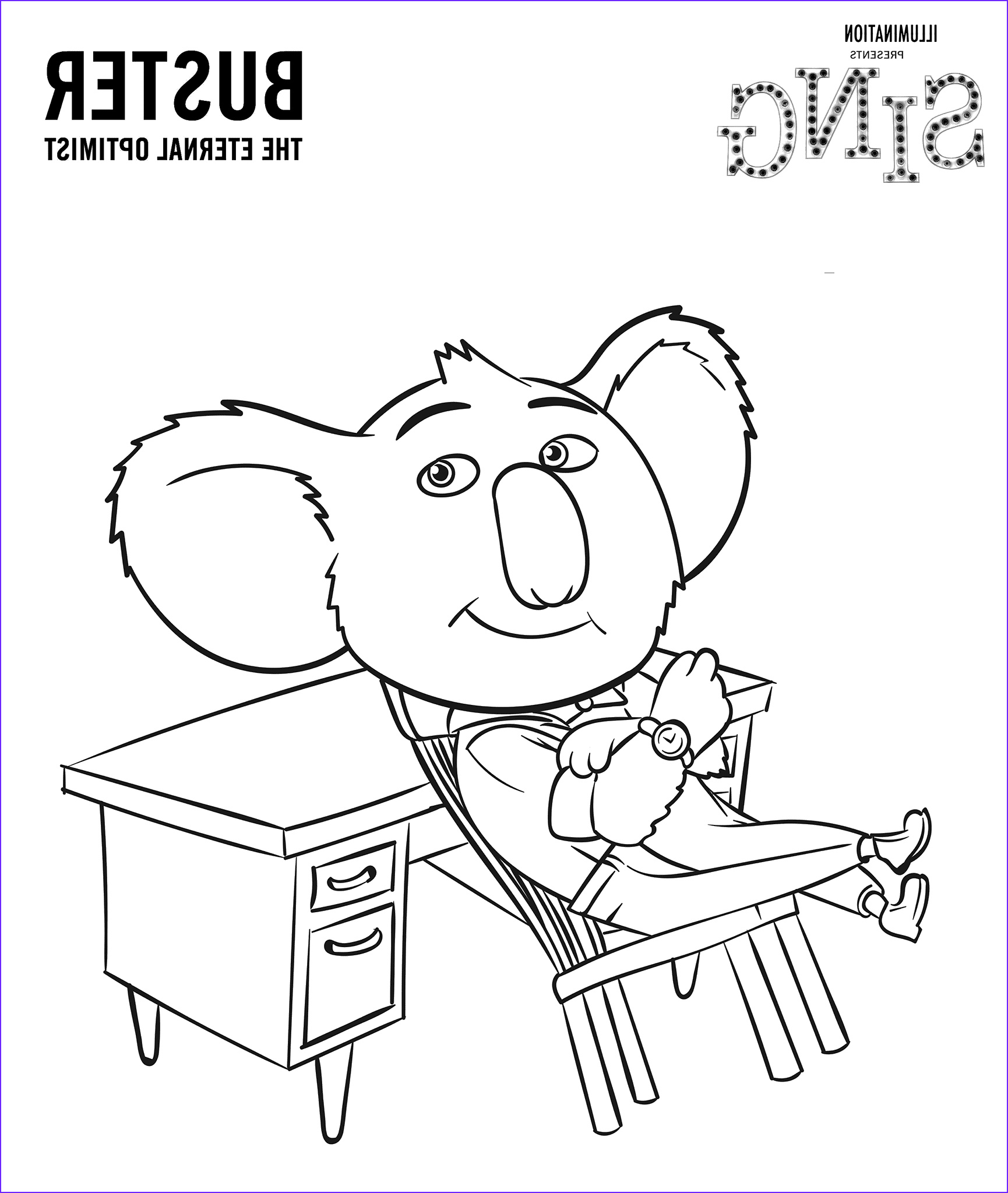 Movie Coloring Pages Awesome Images Sing Movie Coloring Pages Coloring Home