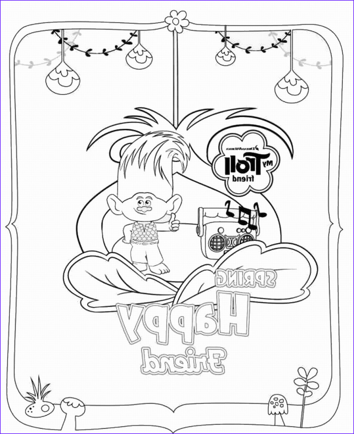 Movie Coloring Pages Best Of Image Trolls Holiday Movie Coloring Pages