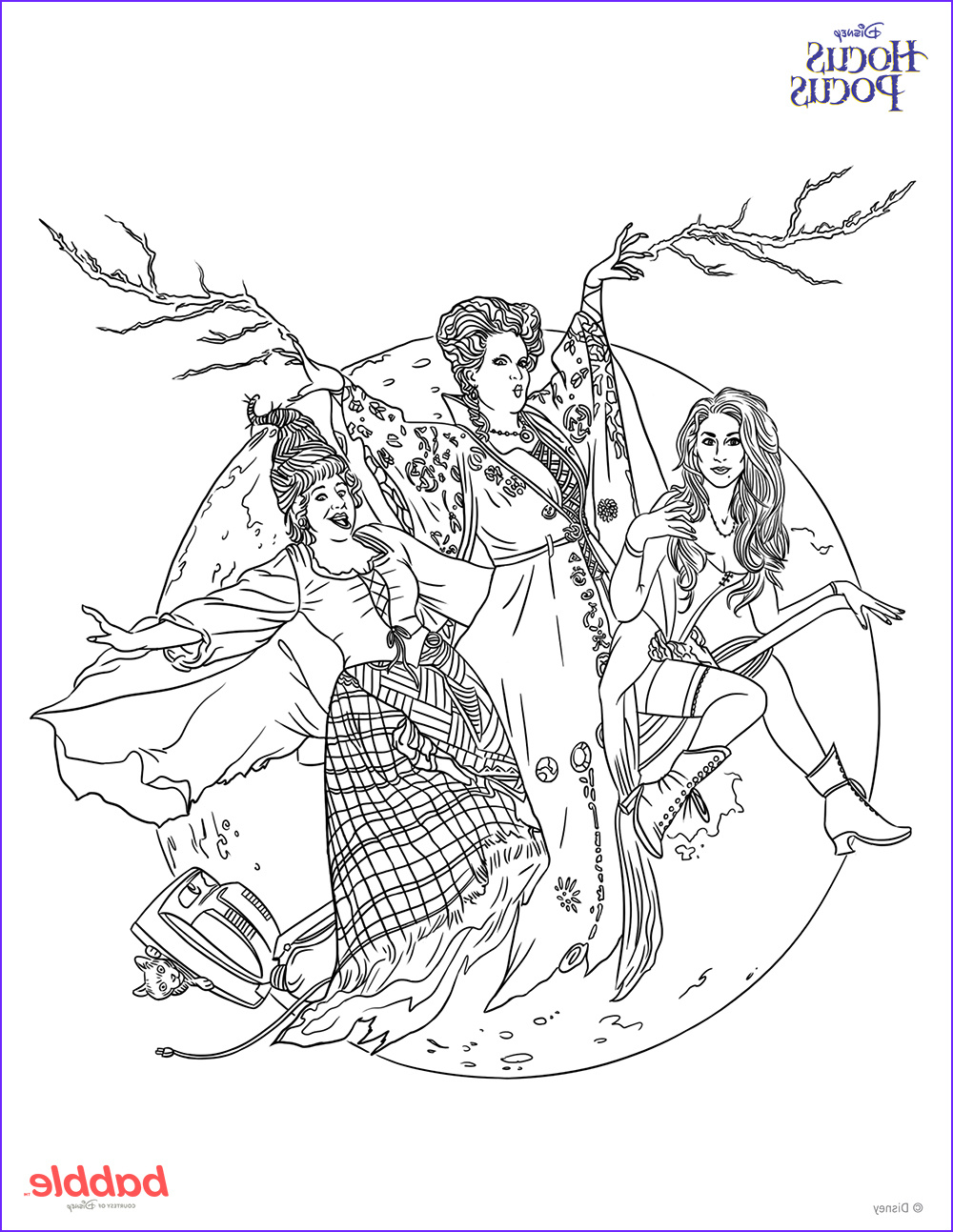Movie Coloring Pages Cool Gallery Printable Hocus Pocus Coloring Page