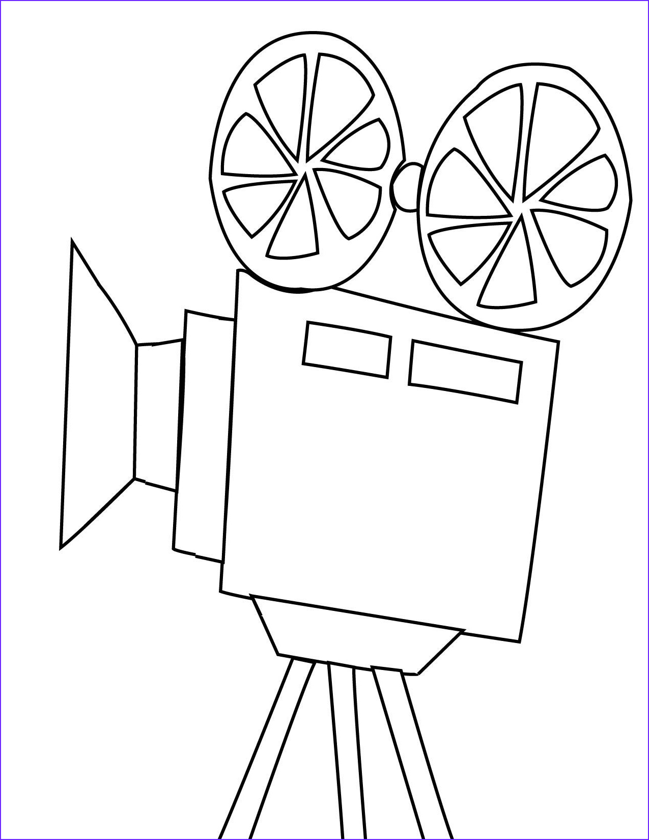 Movie Coloring Pages Luxury Photography Movie Projector Embroidery Pinterest