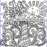 Mushroom Coloring Pages Best Of Images Pop Art Mushroom Coloring Page