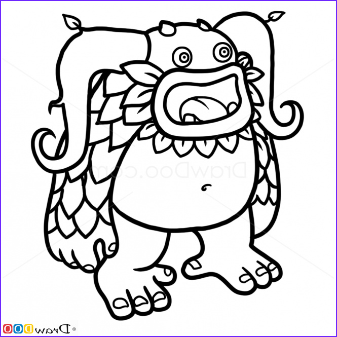 My Singing Monsters Coloring Pages Beautiful Photography How to Draw Entbrat Singing Monsters