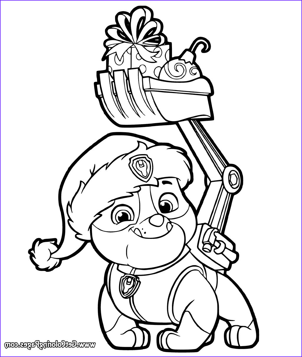 nick jr christmas coloring pages