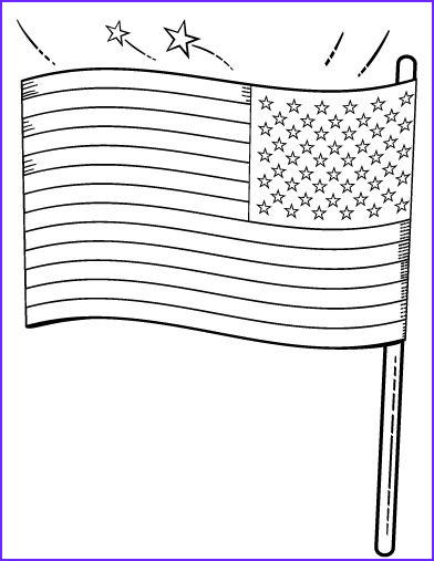 Patriotic Coloring Pages Elegant Stock Printable American Flag Coloring Page Free Pdf