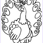 Peacock Coloring Pages Inspirational Stock Peacock Bird Coloring Page
