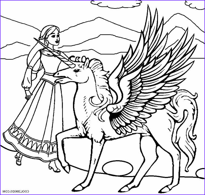 Pegasus Coloring Pages Beautiful Gallery Printable Pegasus Coloring Pages for Kids