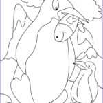Penguin Coloring Sheets Beautiful Collection Penguin Printable Coloring Pages Coloring Home