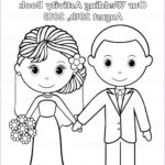 Personalized Coloring Books Beautiful Photos Printable Personalized Wedding Coloring Activity By