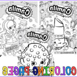 Personalized Coloring Books Cool Photos Personalized Shopkins Coloring Pages
