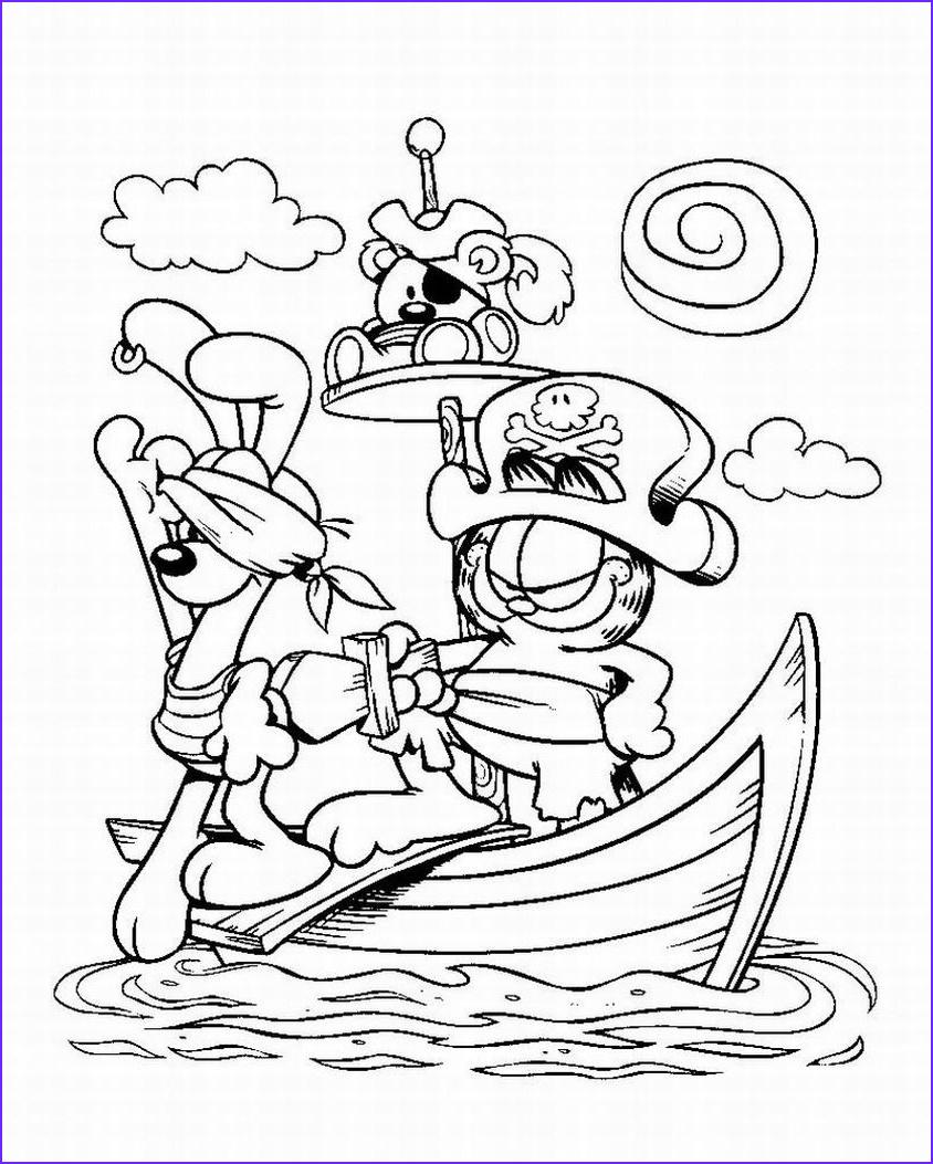 pirate theme colouring pages