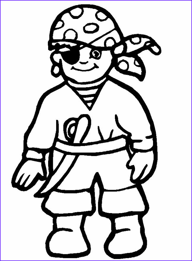 Pirates Coloring Books Cool Photos Halloween Pirates to Color