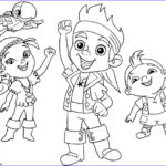 Pirates Coloring Books New Gallery Jake And The Neverland Pirates Team Halloween Coloring