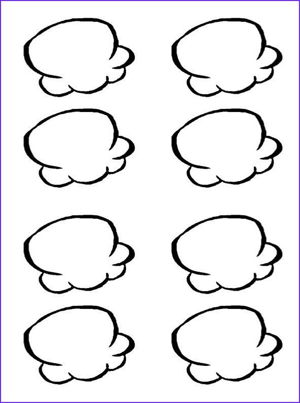A Very Sweet Popcorn Granules Coloring Pages Food