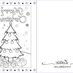 Postcard Coloring Book Beautiful Image Christmas Colouring Card 2 – Lottie Irl