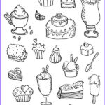 Postcard Coloring Book New Collection Coloring Postcard Sweets Coloring Postcards