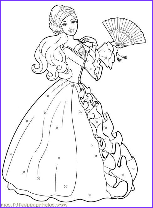 Princess Coloring Pages to Print Cool Image Print A Princess
