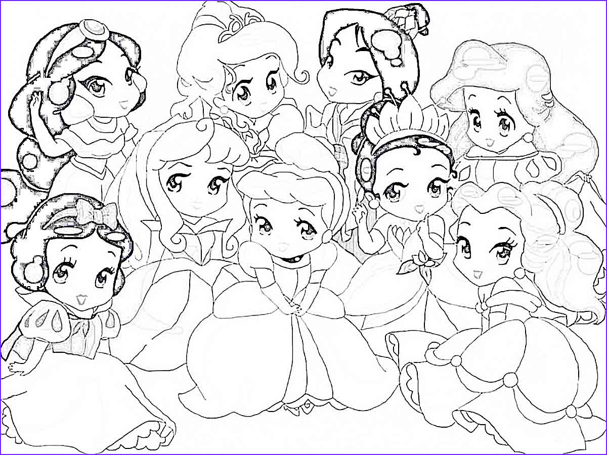 Princess Coloring Pages to Print Inspirational Photos Disney Princess Coloring Pages Bestofcoloring