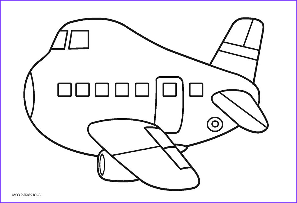 Printable Coloring Pages for Kids Cool Images Free Printable Airplane Coloring Pages for Kids