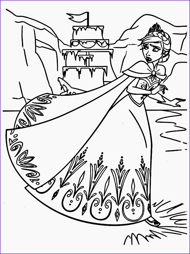 Printable Coloring Pages for Kids Elegant Photos Free Printable Frozen Coloring Pages for Kids Best