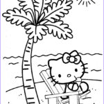 Printable Coloring Pages For Toddlers Beautiful Photos Hello Kitty At The Beach Coloring Pages For Kidsfree