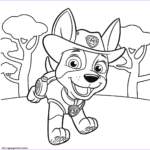 Printable Paw Patrol Coloring Pages Cool Images Jungle Pup Tracker Paw Patrol Coloring Pages Printable