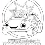 Printing Coloring Pages Awesome Collection Team Omizoomi Coloring Pages