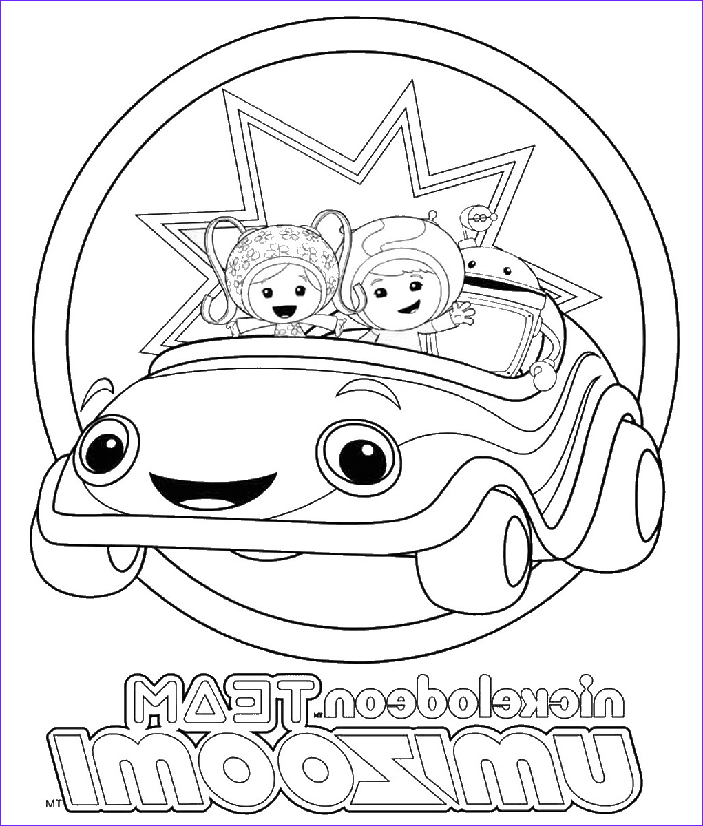 team omizoomi coloring pages