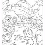Printing Coloring Pages Cool Photos Little Einsteins Coloring Pages