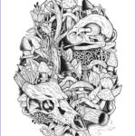 Printing Coloring Pages Luxury Photography Mushroom Kingdom Coloring Pages Colouring Adult Detailed