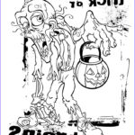 Printing Coloring Pages New Photography Free Printable Zombies Coloring Pages For Kids