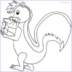 Printing Coloring Pages Unique Images Printable Skunk Coloring Pages For Kids