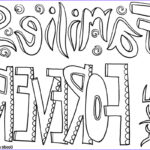 Quote Coloring Pages Beautiful Image Family Quote Coloring Pages Doodle Art Alley