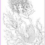 Realistic Mermaid Coloring Pages Best Of Photography Breast Cancer Ribbon Coloring Pages For Kids Free