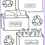 Recycling Coloring Pages Cool Photos Color The Recycling Worksheet