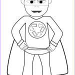Recycling Coloring Pages Cool Photos Recycling Superhero Coloring Page