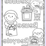 Recycling Coloring Pages Elegant Image Earth Day Preschool Printables Preschool Mom
