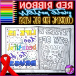 Red Ribbon Week Coloring Pages Inspirational Photos Red Ribbon Quote Coloring Pages And Posters For Drug