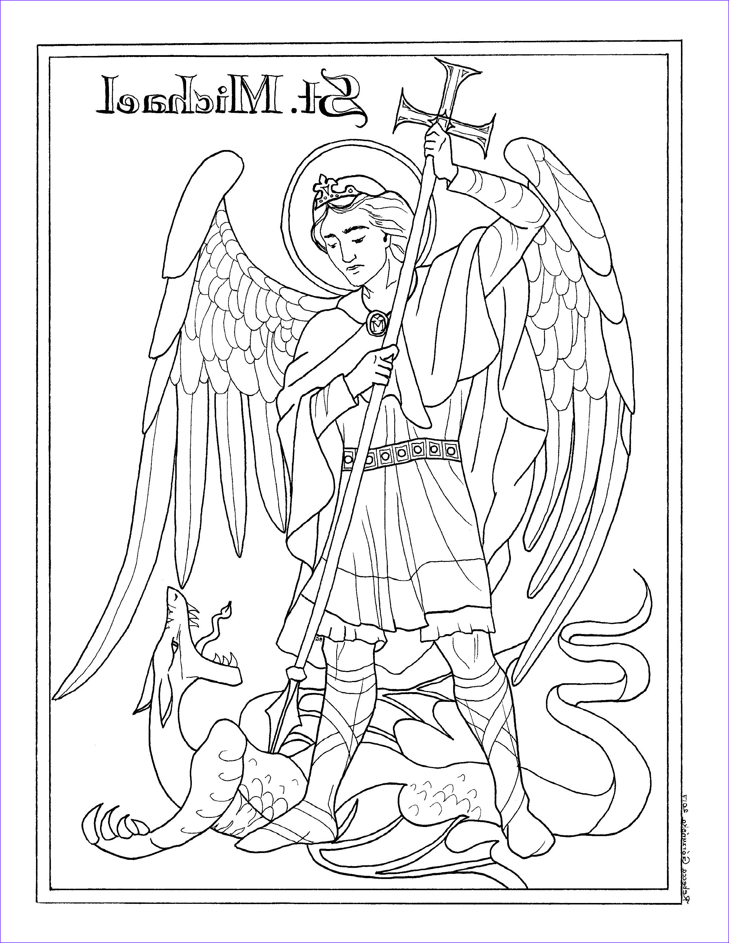 Saint Coloring Pages Awesome Photos Coloring Pages – Delphina Rose